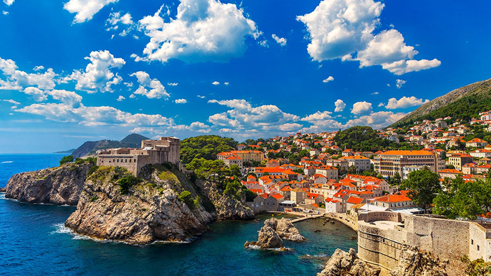 Dalmatiens kust
