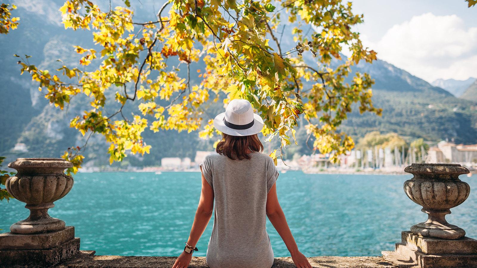 Gardasjön, vin och Romantische Strasse