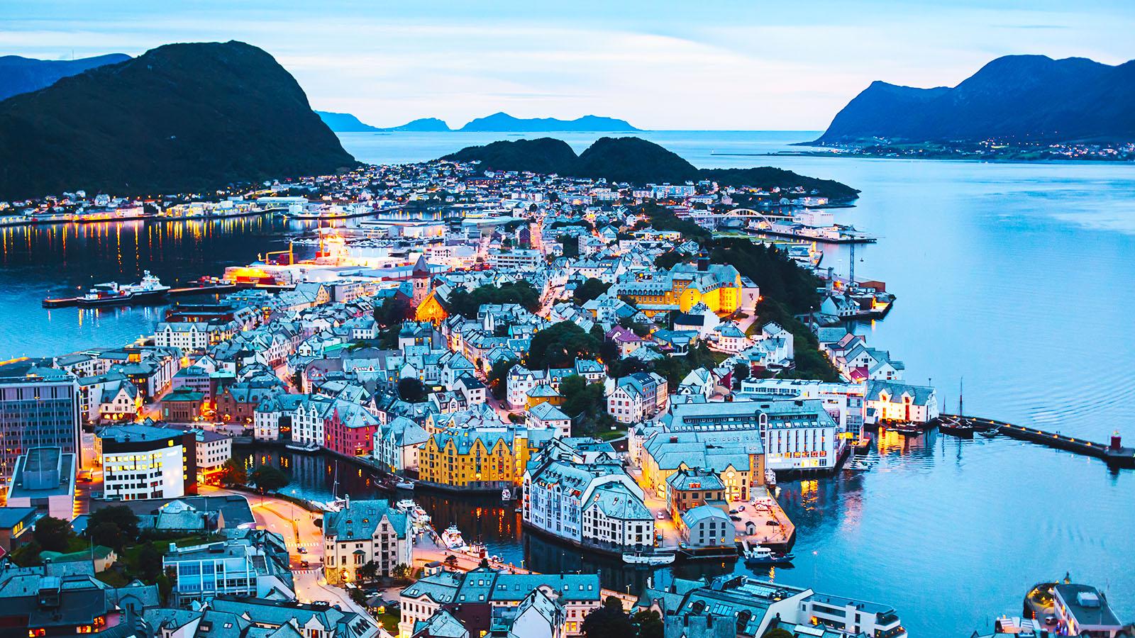 Inlandsbanan och Norge