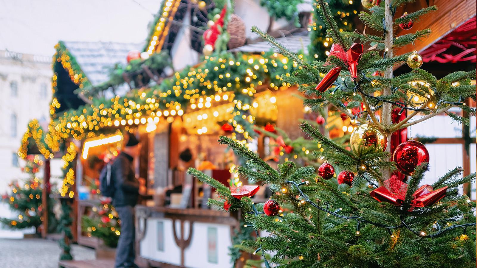 Julmarknad i Wismar