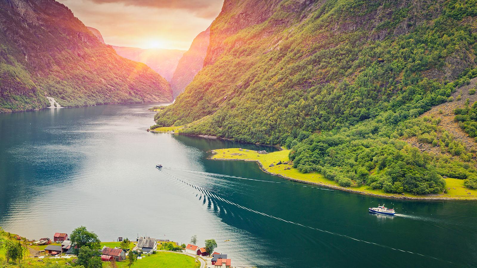 Norge i ett nötskal